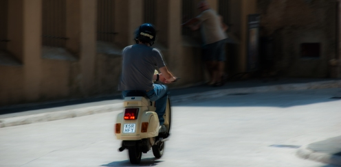 Italians and their means of transportation