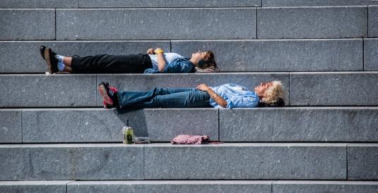 Sleeping - Copenhagen, Denmark