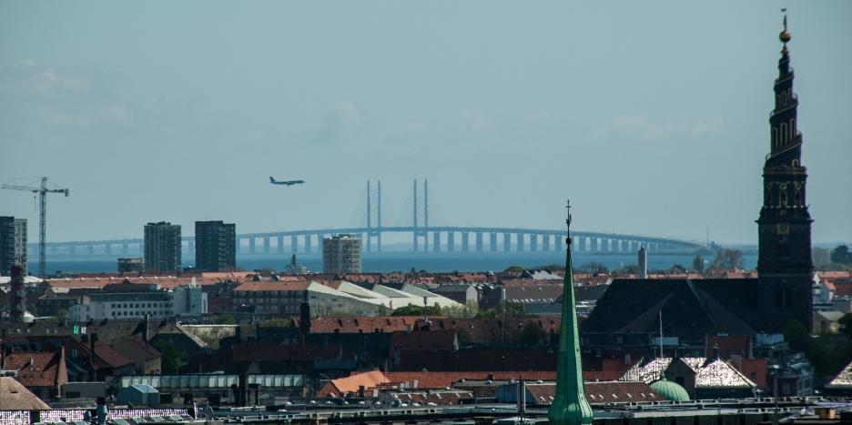 Øresund bridge - Copenhagen, Denmark