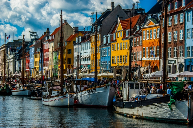Nyhavn - Copenhagen, Denmark