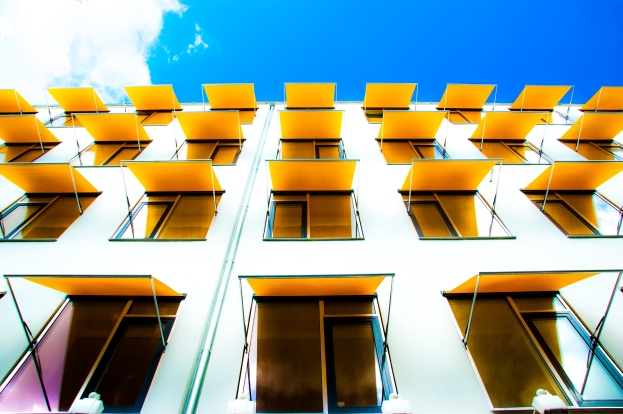 Blue, white and yellow - Copenhagen, Denmark