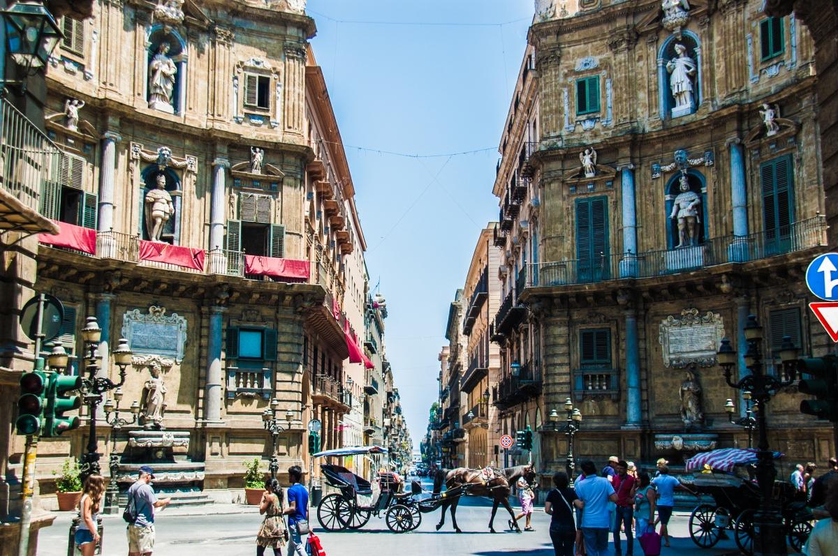 Quattro Canti - Palermo, Sicily