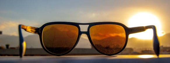 Palermo, Sicily, as seen through my sunglasses