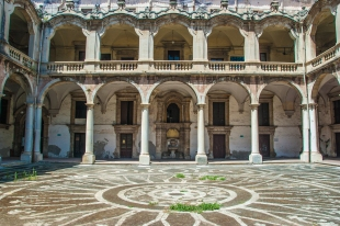 L'ex collegio dei Gesuiti - Catania, Sicily