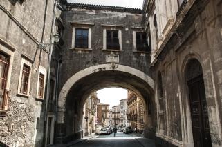 Via Crociferi - Catania, Sicily