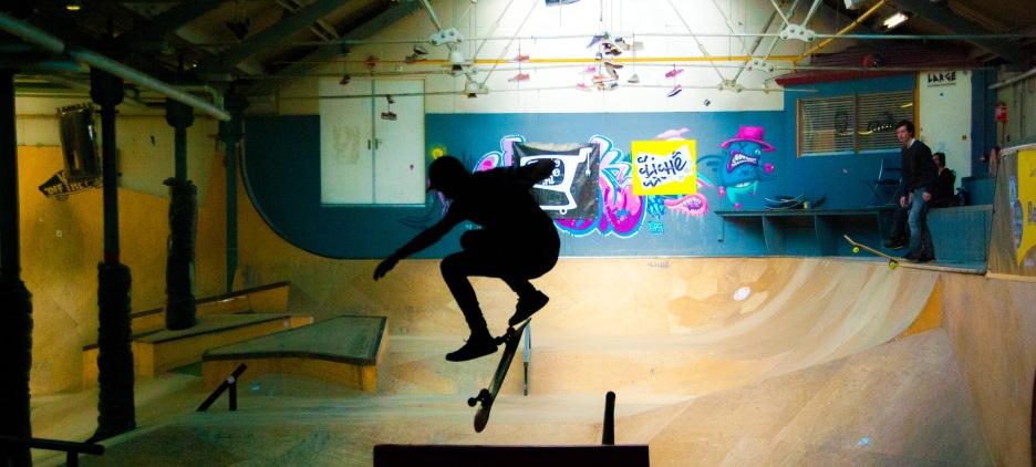 Skater, Spoorzone TIlburg