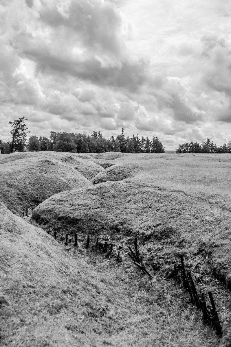 German trenches at Beaumont-Hamel