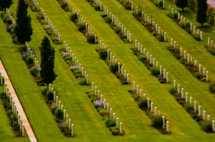 ANZAC cemetery at Villers-Bretonneux