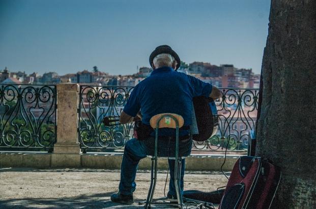 Singing Fado - Lisbon