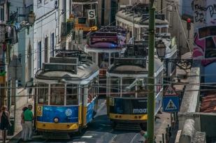 Tram rendezvous - Lisbon