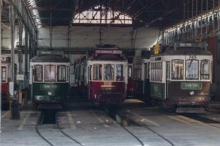 Where the trams go to sleep - Lisbon