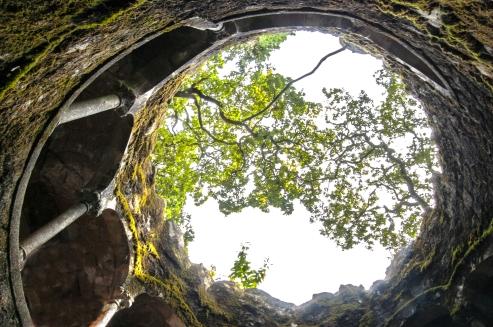 Inverted well - Quinta da Regaleira - Sintra