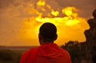 Monk - Angkor Watt